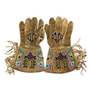 Northern Plains Beaded Gauntlets, circa 1890