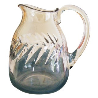 Baccarat Vintage 1950s Crystal Beauchene Pitcher