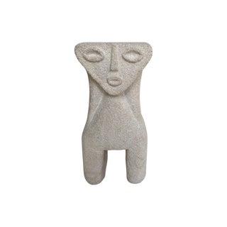 Albert Tormos Vintage Sculptural Stone Table Lamp