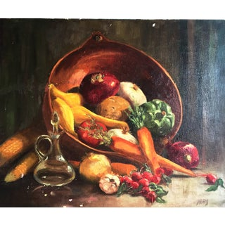 Vintage Vegetable Still Life