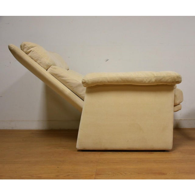Rolf Benz for Cy Mann Recliner & Ottoman - Image 3 of 11