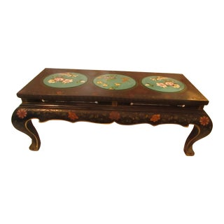 Asian Lacquer Coffee Table