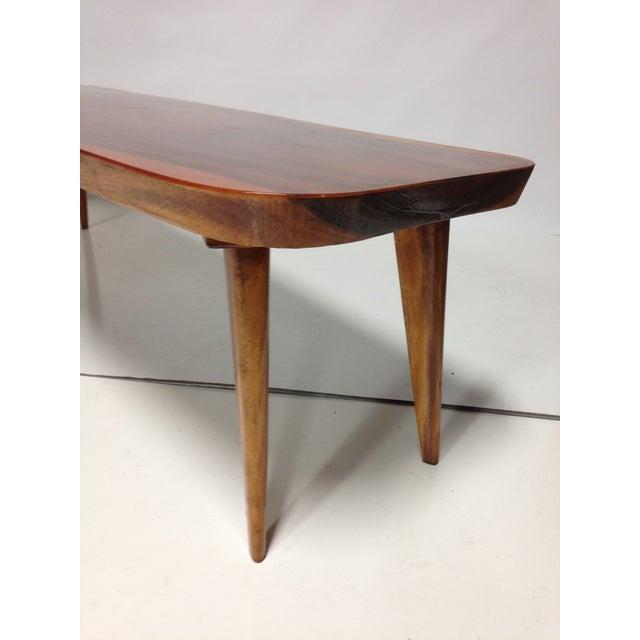 Image of Vintage 1960s Koa Wood Coffee Table