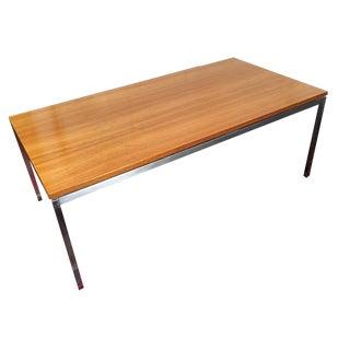 Knoll Steel Base Coffee Table