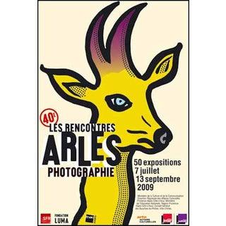 Michel Bouvet Festival Poster - Reindeer