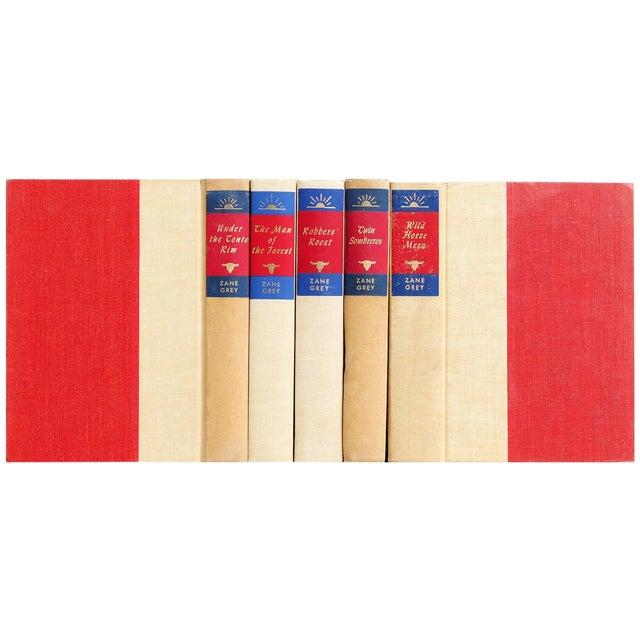 Zane Grey Novels - Set of 6 - Image 1 of 3