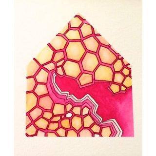 House Original Watercolor Painting - Hive