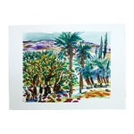 Image of Palm Trees & Hills by Barbara Winkler