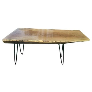 Live Edge Oak Coffee Table
