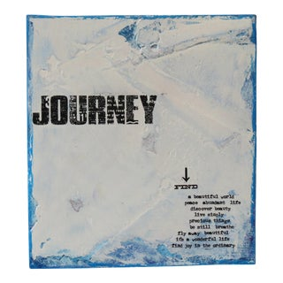 Journey, Azure Blue. 2018 Limited Edition by C. Damien Fox