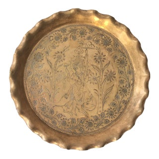 Etched Brass Tray