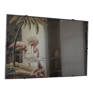 1940s Turner Flamingo Mirror