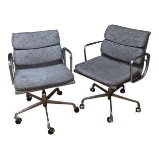 Herman Miller Eames Soft Pad Office Chairs - Set of 2
