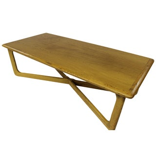 Mid Century Modern Lane Oak Rare Coffee Table