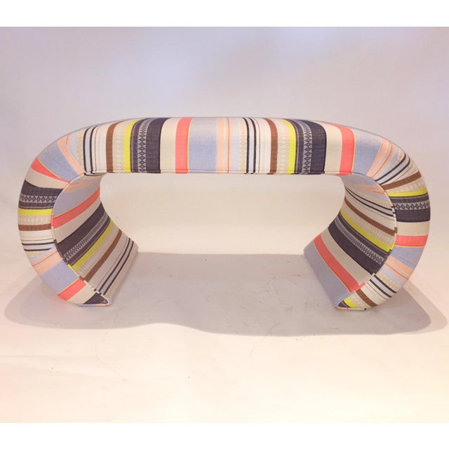 Image of Jakarta Upholstered Arch Bench