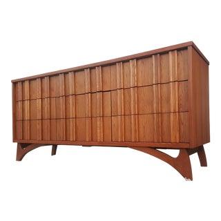Kagan Style Mid-Century Triple Dresser Credenza