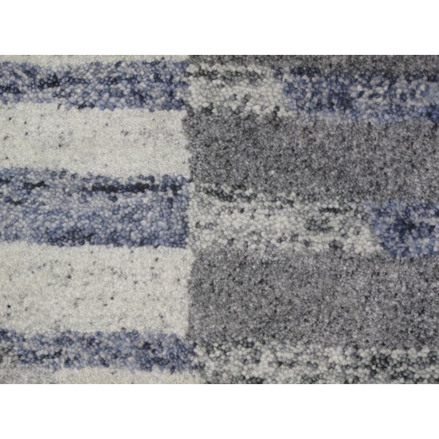 Indian Tufted Rug - 5′ × 7′8″ - Image 5 of 5