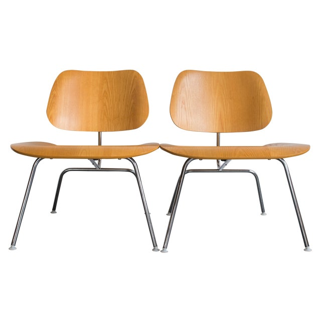 eames molded plywood lcm chair chairish