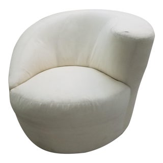 Vladamir Kagan Nautilus Swivel Chair