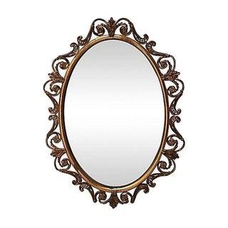 Brass Convex Mirror