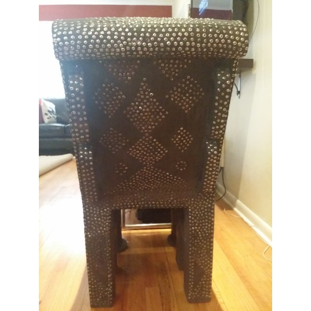 African Accent Chair - Image 5 of 6