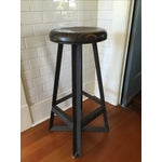 Image of Cleveland Art Industrial Loft Style Bar Stools - Set of 3
