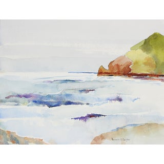 Pacifica, CA Watercolor by A. McGaffey