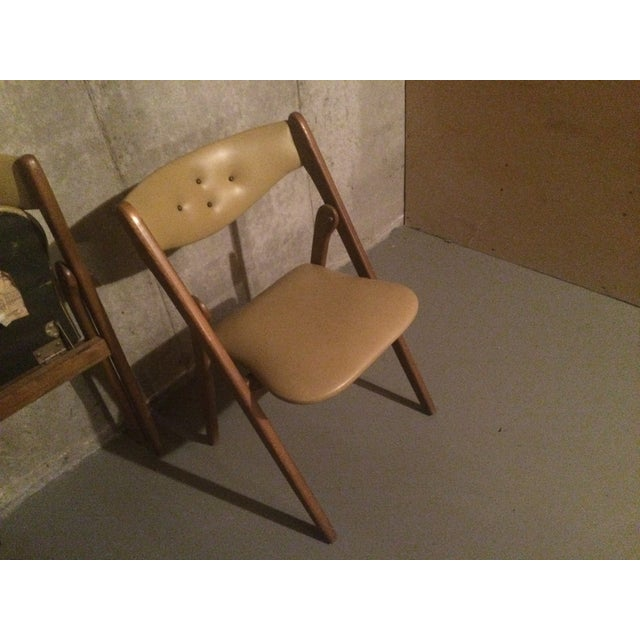 Image of Vintage 1960's Coronet Wonderfold Chairs - A Pair