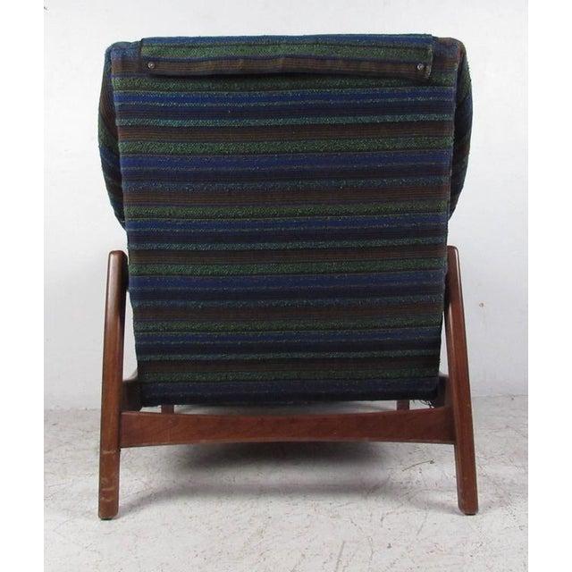 Paoli Chair Co Vintage Mid Century Rocker With Ottoman