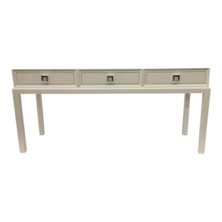 Malibu Loft Three Drawer Console