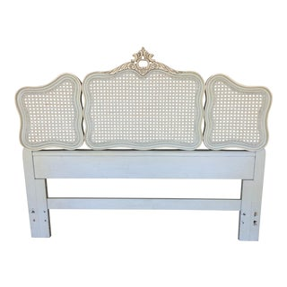 Hickory White French Provincial Queen/ Double Headboard