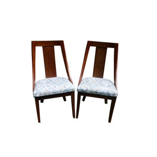Solid Wood Dining Chairs- A Pair