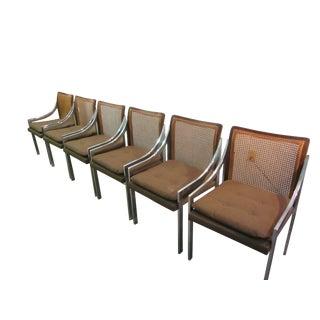 Danish Modern Milo Baughman Chrome Chairs - 6
