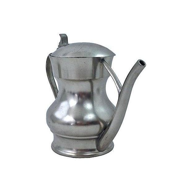 Pewter Teapot Sugar And Creamer - Set of 3 - Image 2 of 7
