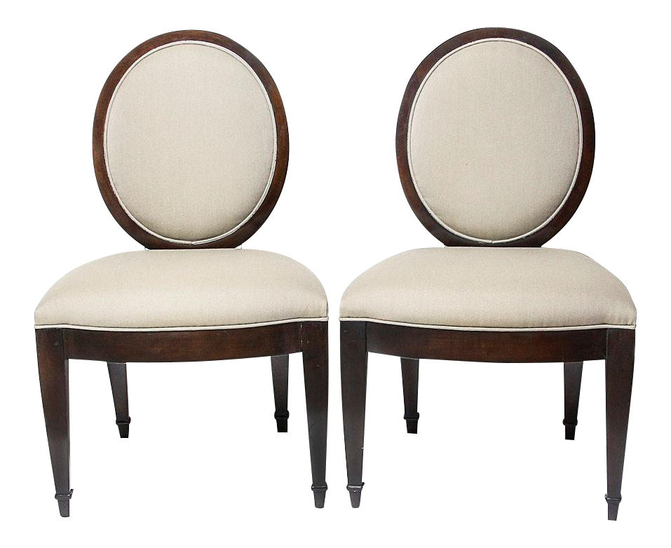 Captivating John Hutton For Donghia Dining Chairs   A Pair