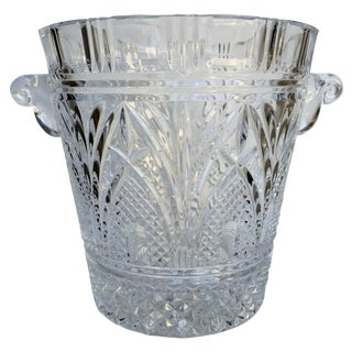 Crystal Ice Bucket/Champagne Cooler