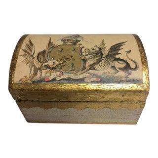 Vintage Florentine Hinged Box