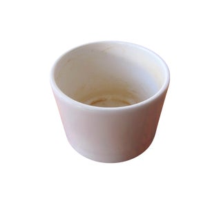 Gainey White Architectural Pottery Planter Pot