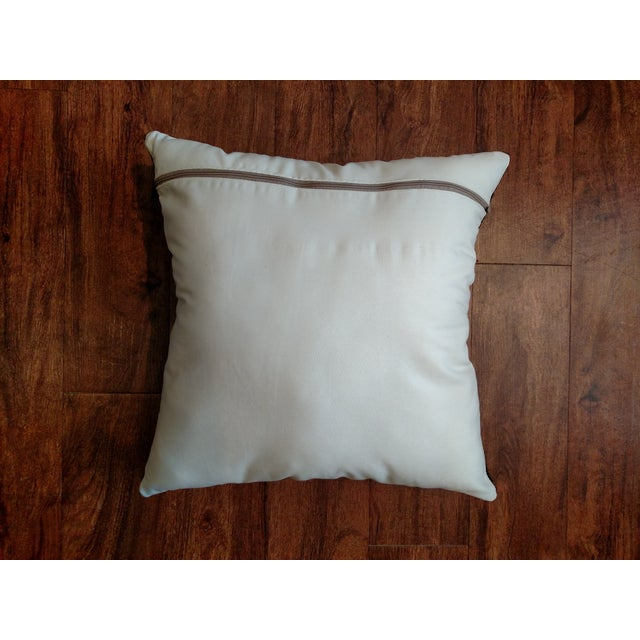 Gambrell Renard Classic Brindle Cowhide Pillow - Image 4 of 5