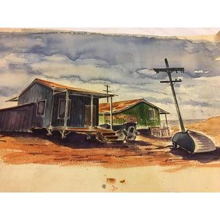 Woodstock Farm Unframed Watercolor