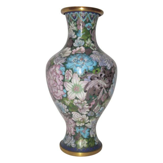 Large Cloisonne Vase - Image 1 of 7