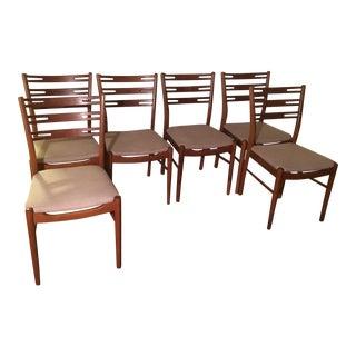 Dansk Danish Teak Dining Chairs - Set of 6
