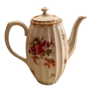 Wurttenberg German Porcelain Coffee Pot