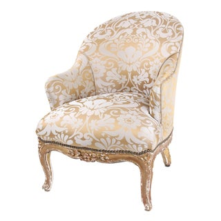 French Antique Napoleon III Armchair