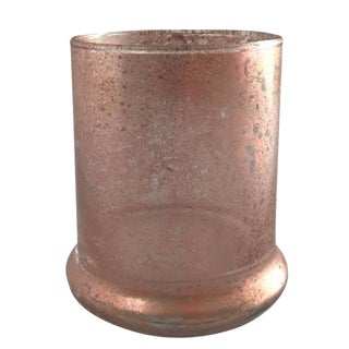 Rose Gold Glass Vase