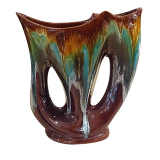 A Mid Century Art Pottery Vase by Vallarius