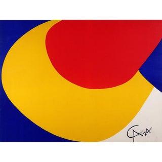 Alexander Calder Convection Silkscreen Print