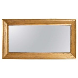 Large Gold Gilt mirror