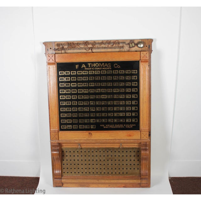 Antique Annunciator Call Box - Image 2 of 11