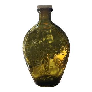 Vintage America Glass Flask